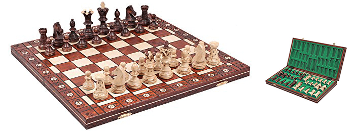 ChessCentral The Jarilo Unique Wood Chess Set