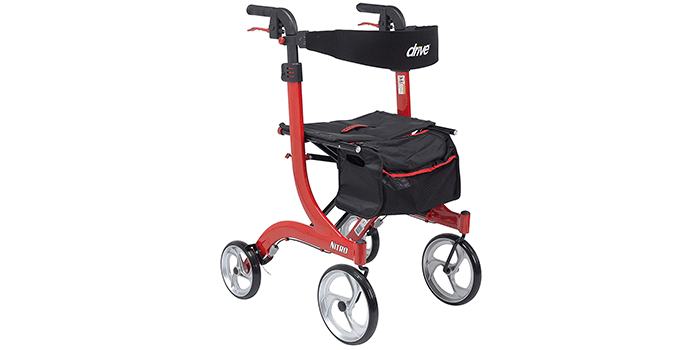Drive Medical RTL10266-T Nitro Euro Style Walker