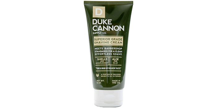 Duke Cannon Shave Cream