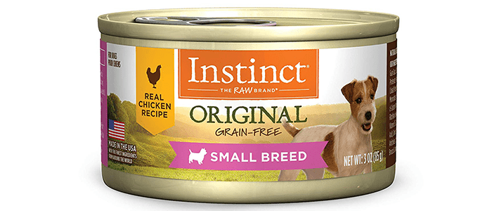 Instinct Original Small Breed Grain Natural WetDog Food