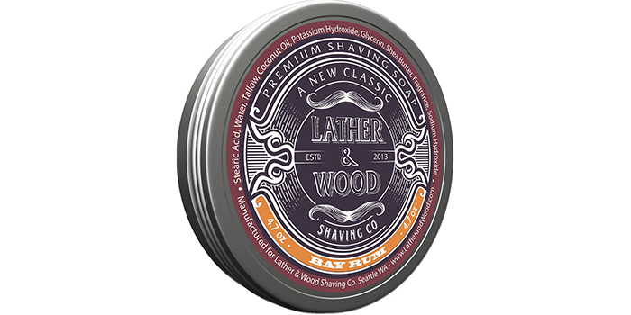Lather & Wood Shaving Soap