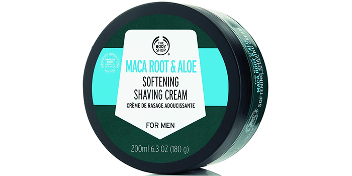 The Body Shop Maca Root & Aloe Softening Shaving Cream