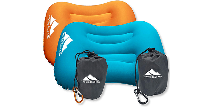 TheBigBlueMtn Ultralight Backpacking Inflatable Camping Pillow