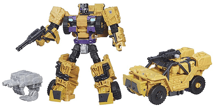 Transformers Generation Combiner Wars Deluxe Class Swindle