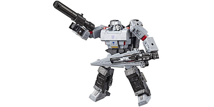 Transformers Generation War for Cybertron Siege Voyager Class Megatron Action Figure
