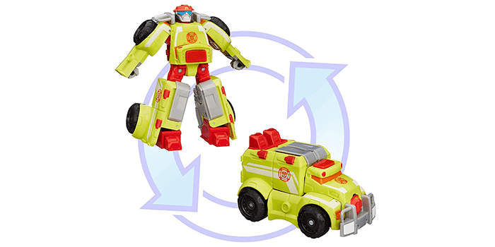Transformers Rescue Bots Heatwave the Fire-Bot Action Figure
