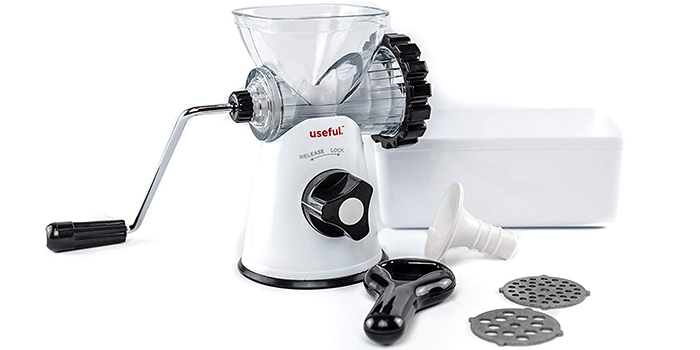 Useful Manual Meat Grinder Mincer and Pasta Maker