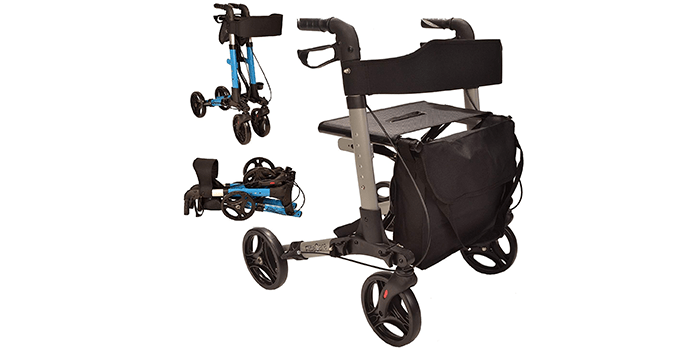 X Cruise Folding Lightweight Compact Walker