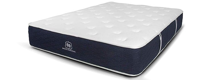Brooklyn Bedding Signature Individually Wrapped Coil Hybrid Mattress