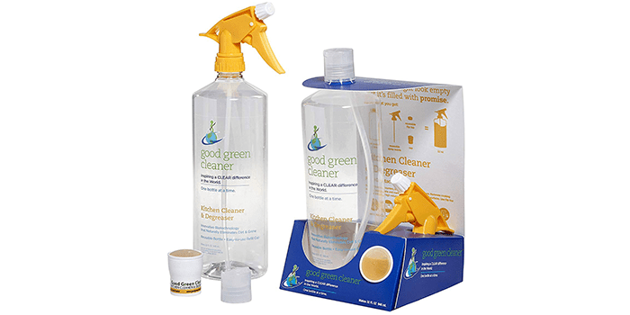 Good Green Cleaner Kitchen Cleaner and Degreaser Starter Set