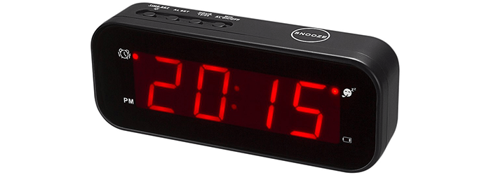 KWANWA Small Digital Alarm Clock