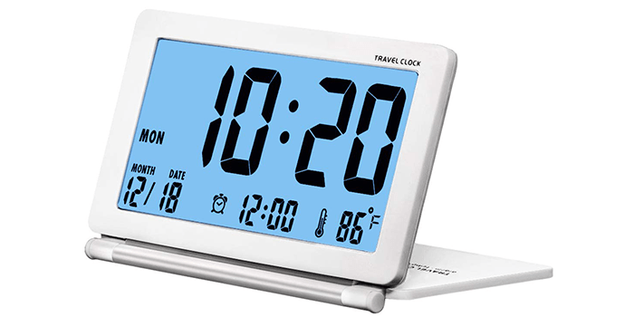 SESTP Digital Travel Clock