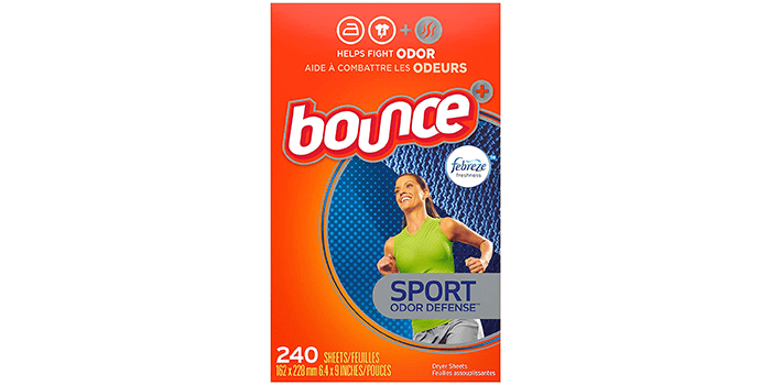 Bounce Plus Febreze Sport Odor Defense Fabric Softener