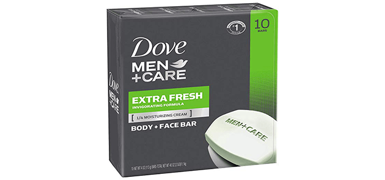 Dove Men + Care Body and Face Bar Extra Fresh