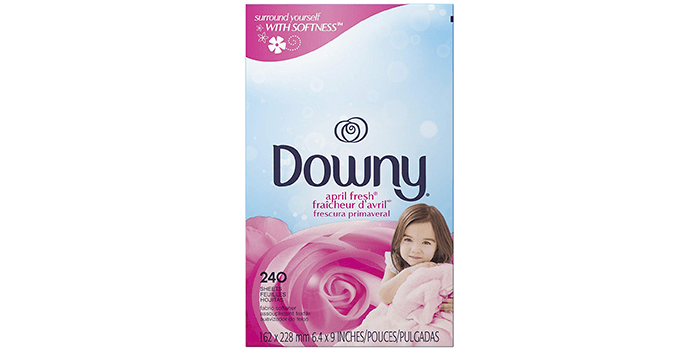 Downy April Fresh Fabric Softener Dryer Sheets