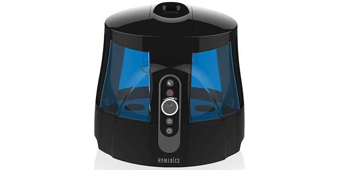 Homedics TotalComfort Warm & Cool Mist Ultrasonic Humidifier