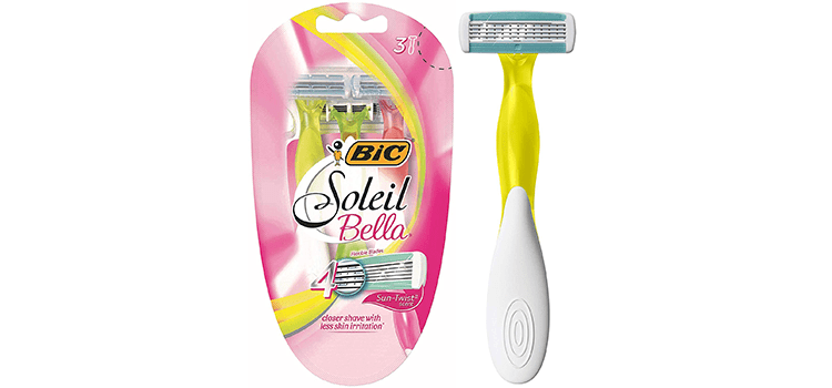 BIC Soleil Bella Sun-Twist Scented Women's Disposable Razor