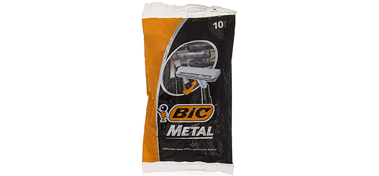 Bic Metal Disposable Men's Shaving Razor