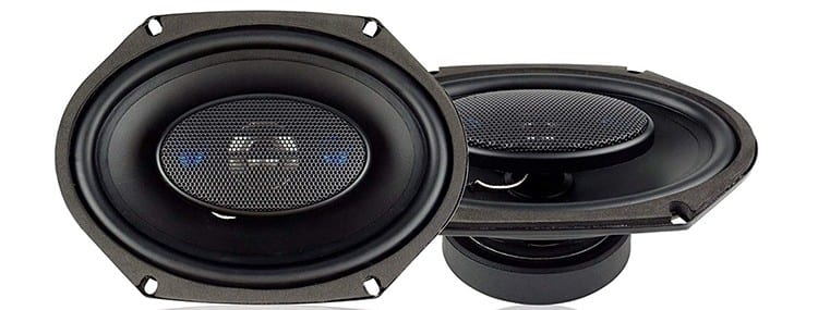 Blaupunkt 6x8 300W 4-Way Coaxial Car Audio Speaker