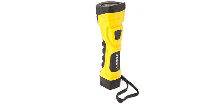 Dorcy 190-Lumen CyberLight Durable LED Flashlight