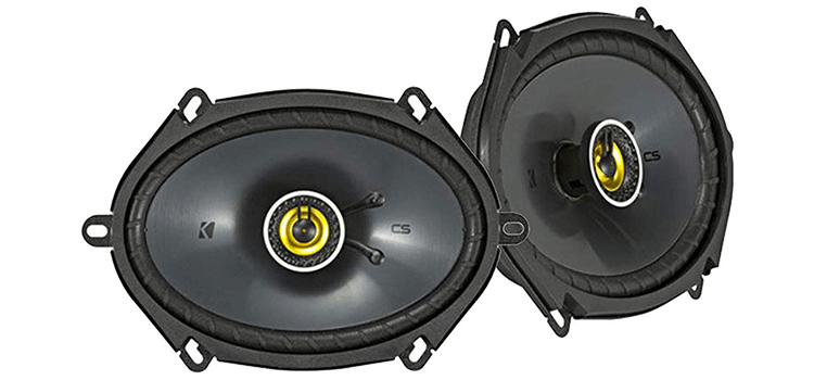 Enrock Kicker Metra Car Speaker Set Combo