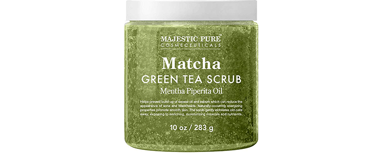 Majestic PureMatcha Green Tea Body Scrub