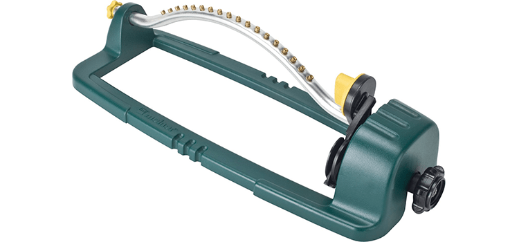 Melnor Oscillating Sprinkler with Brass Nozzles