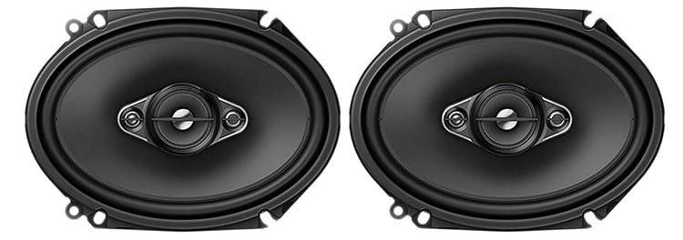 Pioneer 2-Pair 6x8 4-Way Car Audio Speakers