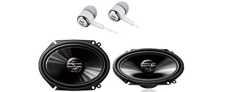 Pioneer G-Series Coaxial Full Range Car Audio Stereo Speakers
