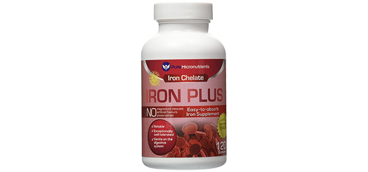 Pure Micronutrients Iron Plus Supplement