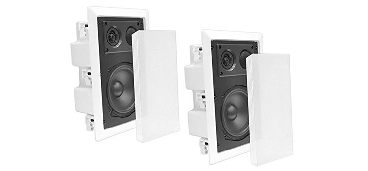 Pyle In-Wall In-Ceiling Dual 80 Enclosed Speaker System