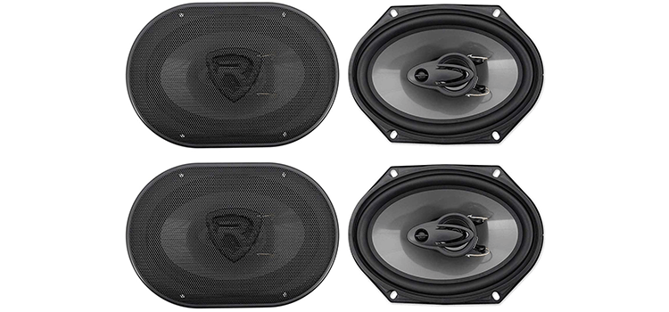Rockville 6x8 3-Way Car Speakers