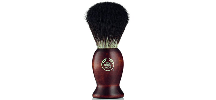 The Body Shop Men's Wooden Shaving Brush