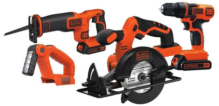 Black+Decker 20V Max Drill and Reciprocating Saw