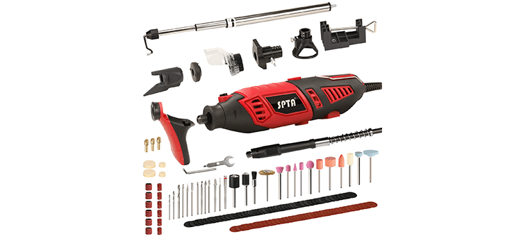 SPTA Professional Multi-functional Rotary Tool Kit