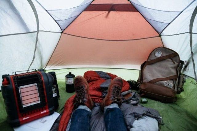 camping tent heater