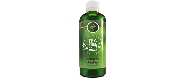 Honeydew Sulfate Free Tea Tree Shampoo Dandruff Treatment