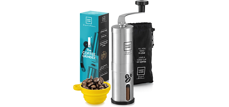 Lucky & Son Manual Coffee Grinder