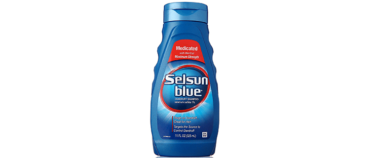 Selsun Blue Medicated Maximum Strength Dandruff Shampoo