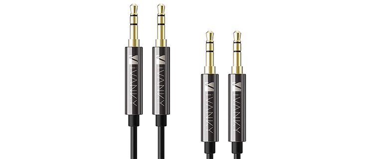 iVanky 2-Pack 35mm Auxiliary Cable