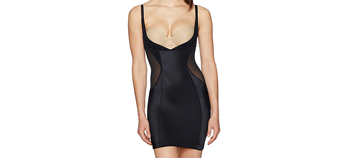 Amazon Brand - Arabella Women's Firm Control Open-Bust Slip Shapewear