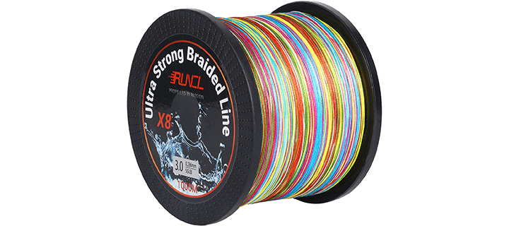 RUNCL Braided Fishing Line 8 Strands
