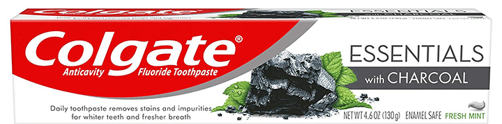 Colgate Essentials Charcoal Teeth Whitening Toothpaste