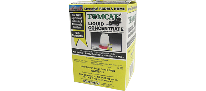 Motomco Tomcat Mouse And Rat Liquid Concentrated Bait