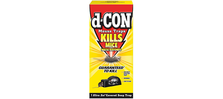d-Con Covered Snap Mouse Trap