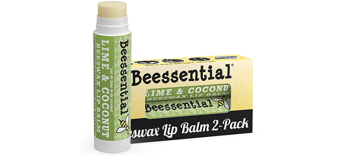 Beessential All Natural Coconut Lime Lip Balm