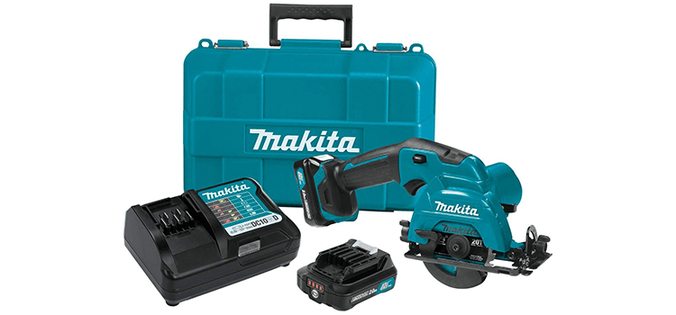 Makita Max CXT Lithium-Ion Cordless Circular Saw Kit
