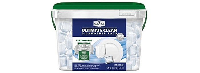 Member's Mark Ultimate Clean Automatic Dishwasher Pacs
