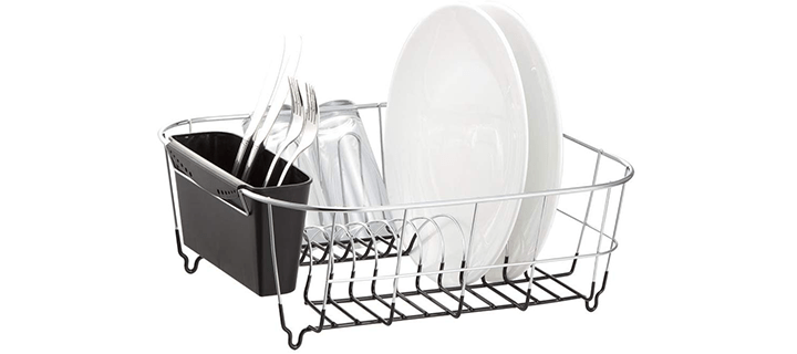 Neat-O Deluxe Chrome-plated Steel Small Dish Drainer