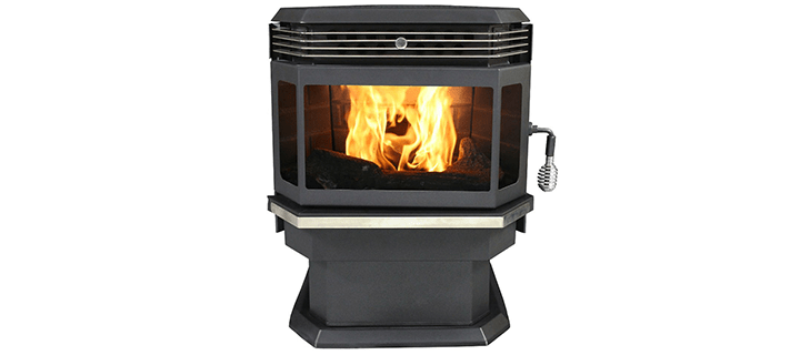 US Stove 5660 Bay Front Pellet Stove